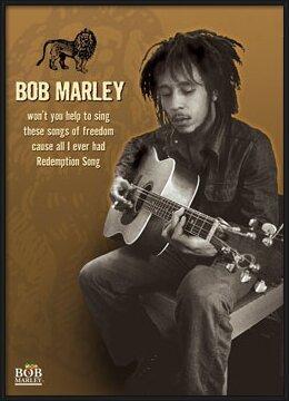 Plakat  Bob Marley - guitar