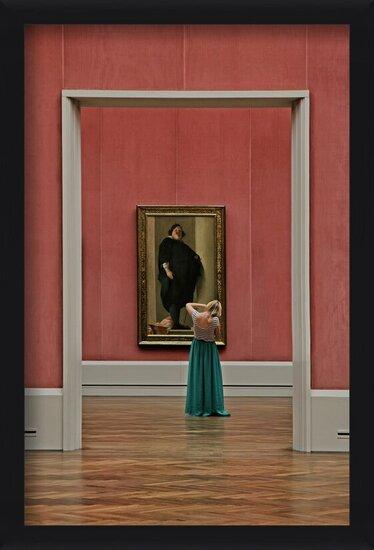 Fotografia artystyczna One portrait in other one...