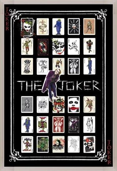 Plakat  BATMAN - joker pack