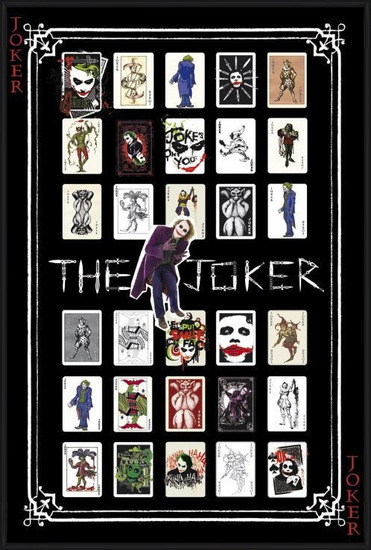 Plakat  BATMAN - joker pack