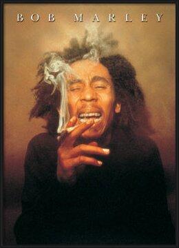 Plakat  Bob Marley - spliff