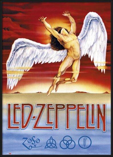 Plakat  Led Zeppelin - Swan Song